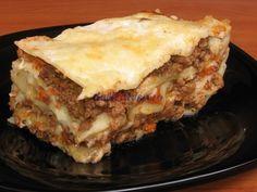 Lasagna Bechamel, Lasagna, Pizza, Sweets, Ale, Cooking, Ethnic Recipes, Desserts, Food