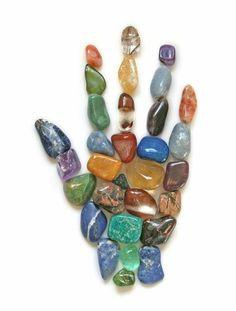 Crystal hand