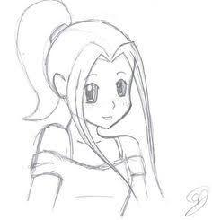 Image Result For Easy Sketch Of Relationship Cartoon Girl