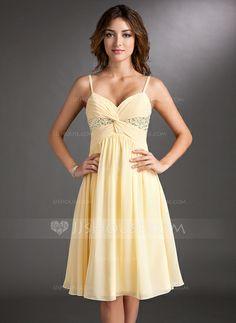 Homecoming Dresses - $114.49 - A-Line/Princess Sweetheart Knee-Length Chiffon Homecoming Dress With Ruffle Beading Sequins (022020701) http://jjshouse.com/A-Line-Princess-Sweetheart-Knee-Length-Chiffon-Homecoming-Dress-With-Ruffle-Beading-Sequins-022020701-g20701?ver=1
