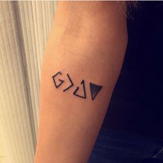 God is Greater than the Highs and Lows tattoo.