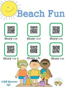 Beach Fun using QR Codes Pre K - 3rd $ Great for students that have never had a chance to visit the beach. Student tested, students loved!