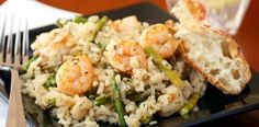 Lisa's Dinnertime Dish for Great Recipes! – Shrimp and Roasted Asparagus Risotto