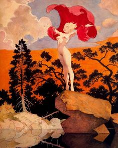 "Frank Frazetta ""By Dawn's Early Light"" 1963"