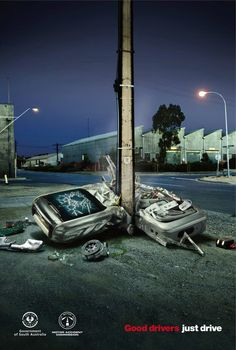 Government of South Australia and The Motor Accident Commission: Good drivers just drive.