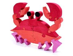 Red Crab Puzzle and Room Decoration: