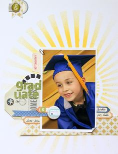 graduation scrapbooking | School & Graduation Scrapbooking / Graduate - Scrapbook.com