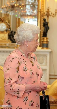 Queen Elizabeth II (L) receives His Excellency the Ambassador of Austria, Dr Emil Brix, as he presents his credentials at Buckingham Palace on July 8, 2010, in London, England. (Photo by Katie Collins - WPA Pool/Getty Images) Hm The Queen, Her Majesty The Queen, Save The Queen, Royal Families Of Europe, British Royal Families, Kate Middleton, Royal Family Pictures, Royal Life, Queen Elizabeth