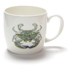 Jersey Pottery - Mug - Blue Crab