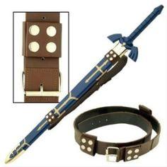 Zelda Sword Belt Strap - http://1uptreasures.com