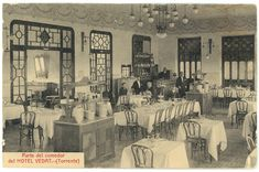 Parte del comedor del Hotel Vedat (Torrente) (s.a.) - Anónimo Valencia, Torrente, Spain, Romantic, Painting, Art, Old Pictures, Dining Room, Art Background