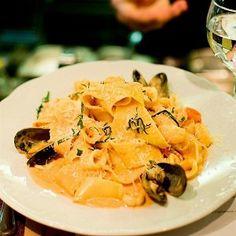 Паста с морепродуктами по рецепту ресторана «Мамина паста»
