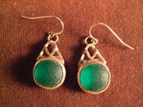 Earrings by Courtney Gillen. American Made. See the designer's work at the 2016 American Made Show, Washington DC. January 15-17, 2016. americanmadeshow.com #earrings, #jewelry, #americanmade, #americanmadeshow