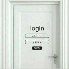 Porta de quarto