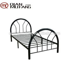 easy assembly square tube metal pipe bed frame
