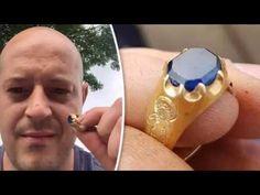 Amateur Treasure Hunter Unearths Medieval Ring from Sherwood Forest Sherwood Forest, Study History, Gemstone Rings, Turquoise, Medieval, Youtube, Jewelry, Jewlery, Jewerly
