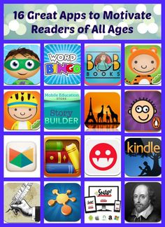 16 Apps That Motivate Kids to Read