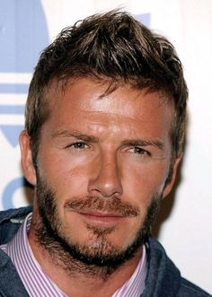 David Beckham Modern Mohawk Style with Triangle Effect on the Top