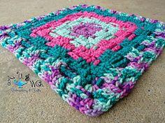 Ravelry: Will's 12 inch Weave Square pattern by Jennifer Bregg