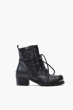 Perfect boots for those days when you want to add a tougher edge to your look