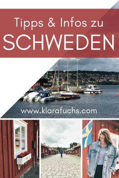 Ein modernes und wundervolles Land: Schweden! Hier findest viele Tipps und Reiseziele, falls du eine Reise nach Schweden planst. Fahre in den hohen Norden! Lerne und entdecke Neues! Dies musst du beachten, wenn du nach Schweden reist - alle Infos hier. www.klarafuchs.com