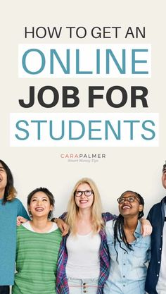 Are you a college student looking for a job? If so, this list of online jobs at home for students without the investment of money is perfect for you. Online Jobs For Students, Online Jobs For Teens, Legit Online Jobs, Student Jobs, Online Jobs From Home, Work From Home Jobs, College Students, Make Money Blogging, Money Tips