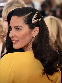 The best beauty looks from the Met Gala 2014: Olivia Munn
