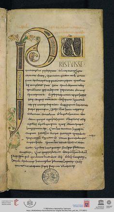 Vatikan, Biblioteca Apostolica Vaticana, Pal. lat. 177 Hieronymus: Commentarii in Matthaeum (Lorsch, um 800)