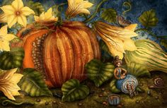 Pumpkin Soup by chuckometti on DeviantArt Pumpkin Soup, Source Of Inspiration, Fairy Tales, Deviantart, Drawings, Painting, Interview, Fantasy, Queen