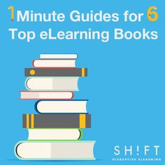 1-Minute Guides for 6 Top eLearning-Related Books