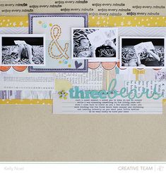 Three Bears - Studio Calico Marks & Co Kit - Kelly Noel