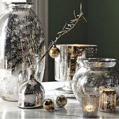Home-Styling: Mercury Glass * Vidro Mercurizado