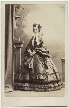 Princess Marie Isabelle Of Orleans Countess Paris Albumen Carte De Visite