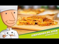 Empanada de Atún de Hojaldre Recipies, Omega 3, Quiches, Cooking, Videos, Food, Puff Pastries, Pasta Recipes, Snacks