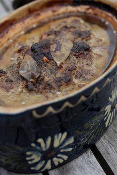 Terrine aux foies de volaille de Michel Guérard | Ondinecheznanou.blogspot.com