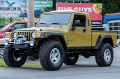 Jeep Wrangler Hemi AEV Brute Conversion, AEV Pintler Whees,