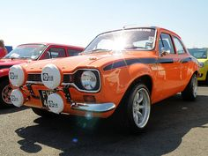 Escort Mexico. The first car I drove after passing my test was an Escort, certainly taught me a thing or two about driving sideways.