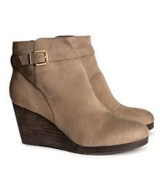 H&M | Wedge Boots