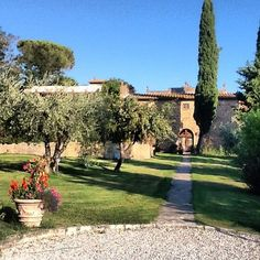 South of Tuscan Hills #RelaisIlFalconiere #ilFalconiere #hotel...