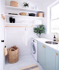 The Little-Known Secrets to Laundry Room Design Ideas There are lots of design ideas in the post basement laundry room which you are able to find, you will see ideas in the gallery. Therefore, if you're searching for design suggestions… Continue Reading → Room Makeover, Room Design, Laundry Mud Room, Interior, Laundry Room Design, New Homes, House Interior, Sweet Home, Living Room Designs