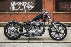 Cleveland's GasBox seemingly threw this classic shop project '72 Harley Sportster together using spare bits and pieces. Oh, and their custom bike genius. But the best part is that they are pretty much giving the thing away at the 2018 Fuel Cleveland Show..., http://www.pipeburn.com/home/2018/06/17/harley-ironhead-bobber.html