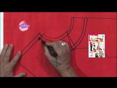 descargar gratis manual o libro de costura de hermenegildo zampar - YouTube Sewing Tutorials, Sewing Patterns, Fashion Royalty Dolls, Chor, Learn To Sew, Sewing Techniques, Diy Clothes, Hand Sewing, Diy Crafts