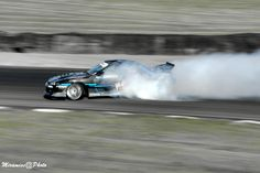 Drifting at Mantorp Sweden.