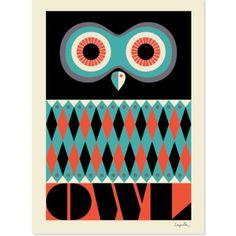 Owl by Ingela P. Arrhenius