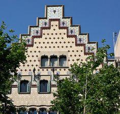 Barcelona Casa Amattler by Philip1001971, via Flickr