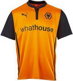 Wolverhampton Wanderers FC (England) - Puma Home Shirt Wolverhampton Wanderers Fc, Football Kits, Vintage Shirts, Sport Fashion, Wolves, Sports, Mens Tops, Club, England