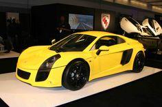 Mexican sports car top gear - Mastretta