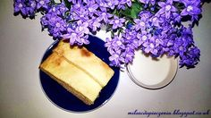 Kołacz drożdżowy z białym serem