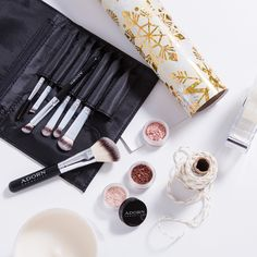 This Eye Kit includes Adorn's 7 Pce Cruelty Free Vegan Brush Kit and 3 Loose Mineral Eye Shadows saving you $47. Plus FREE Aus shipping.