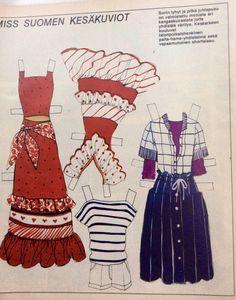 Suvi Lukkarinen clothes 1976